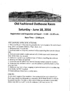 Outhouse Races 2016-1